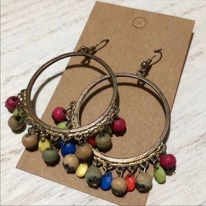 Vintage 90's Boho Festival Earrings